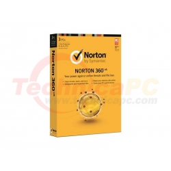 Norton 360 3Users Anti Virus Software