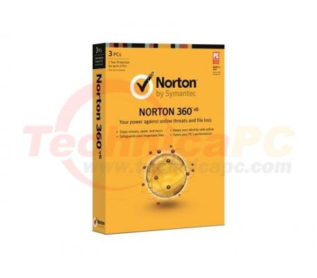 Norton 360 3Users Anti Virus Software