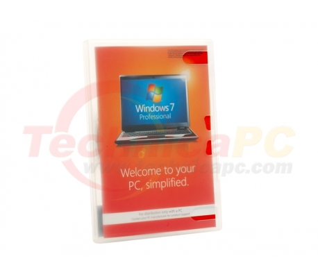Windows 7 Home Pro 64-bit Microsoft OEM Software