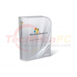 Windows Server Standard 2008 64-bit Microsoft OEM Software