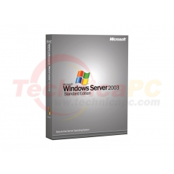 Windows Server CAL 2003 DSP OEI 5Clt Microsoft OEM Software