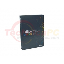 Office Mac 2011 Home and Business for 1 Device Microsoft FPP Software