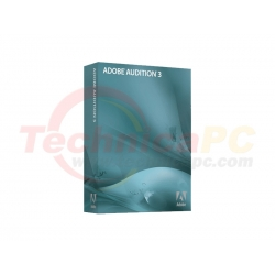 Adobe Audition V3 Graphic Design Software