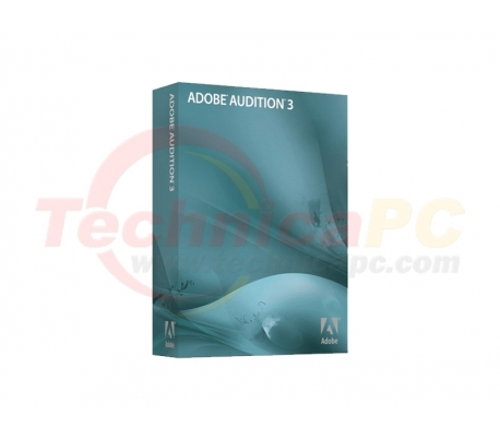 Adobe Audition V3 Graphic Design Software