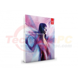 Adobe After Effect CS6 Professional Graphic Design Software