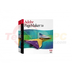 Adobe Page Maker Plus 7.02 Graphic Design Software