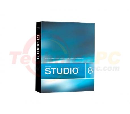 Adobe Studio 8 Graphic Design Software