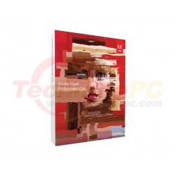 Adobe Flash Professional CS6 Graphic Design Software