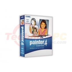 Corel Painter Essentials 4 EN PCM Graphic Design Software