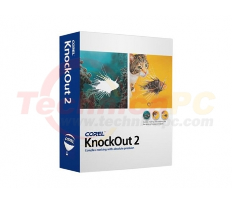 Corel KnockOut 2 Graphic Design Software