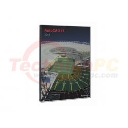 AutoCAD LT 2013 (2D) Graphic Design Software