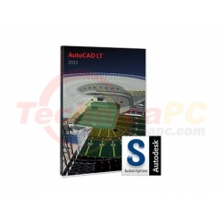 AutoCAD LT 2013 (2D) + 1Year SubsGraphic Design Software