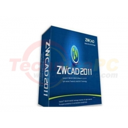 ZWCAD Standard 2011 Graphic Design Software