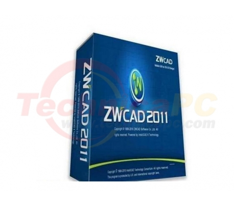 ZWCAD Standard 2011 Graphic Design Software