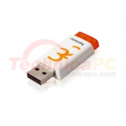 Philips Eject Edition 2.0 32GB USB Flash Disk