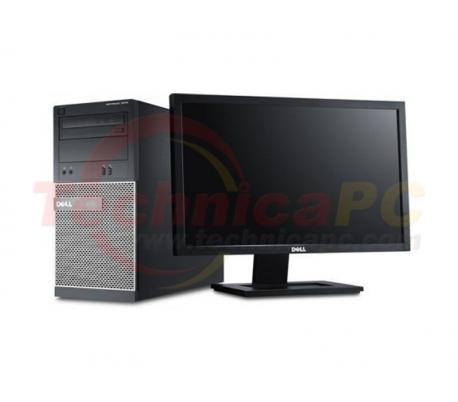 "DELL Optiplex 7010MT (Mini Tower) Core i7-3770 LCD 18.5"" Desktop PC"