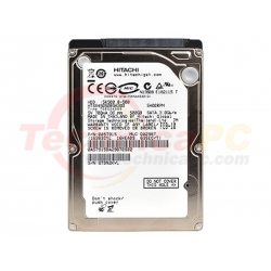 Hitachi Travelstar 500GB SATA 5400RPM HDD Internal 2.5""