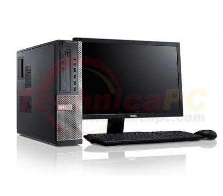 "DELL Optiplex 3010DT (Desktop Tower) Pentium G630 LCD 18.5"" Desktop PC"