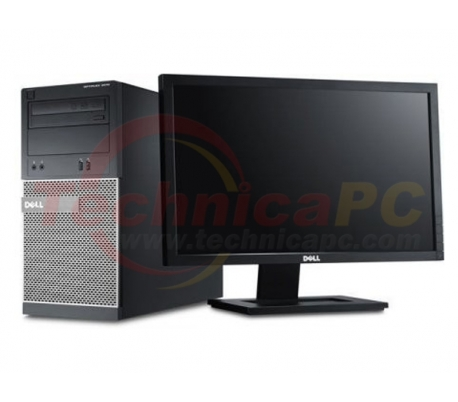 "DELL Optiplex 3010MT (Mini Tower) Core i3-2120 LCD 18.5"" Desktop PC"