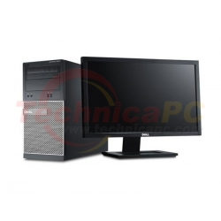 "DELL Optiplex 9010MT (Mini Tower) Core i5-3550 LCD 18.5"" Desktop PC"