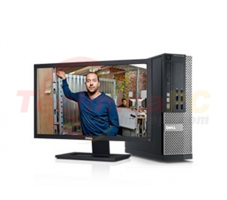 "DELL Optiplex 9010SFF (Small Form Factor) Core i5-3550 LCD 18.5"" Desktop PC"