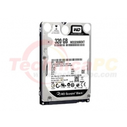 Western Digital Scorpio 320GB SATA WD3200BEVT/BPVT HDD Internal 2.5""