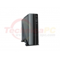 iBos Ufora LP5 Glossy Black Desktop PC Case + Power Supply 500Watt