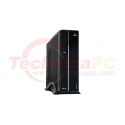 iBos Ufora LP8 Glossy Black Desktop PC Case + Power Supply 500Watt