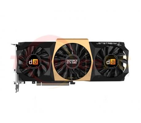 Digital Alliance NVIDIA Geforce GTX 680 Jetstream 2048MB DDR5 PCI-Ex 256 Bit VGA