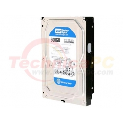 Western Digital Caviar 500GB SATA Blue WD500AAKX HDD Internal 3.5""