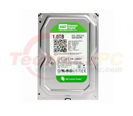 """Western Digital Caviar 1TB SATA Green WD10EZRX HDD Internal 3.5"""""""