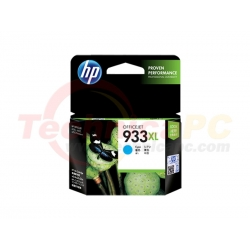 HP CN054AA Cyan Printer Ink Cartridge