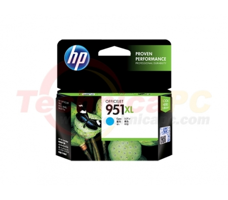 HP CN046AA Cyan Printer Ink Cartridge