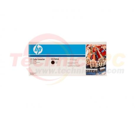 HP CE740A Black Printer Ink Toner