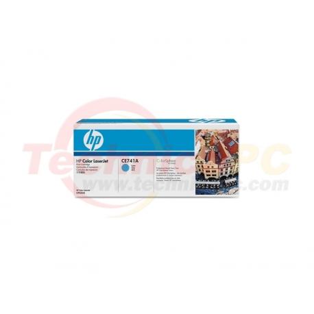 HP CE741A Cyan Printer Ink Toner