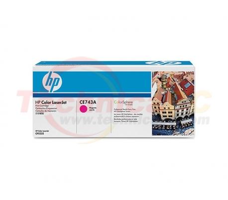 HP CE743 Magenta Printer Ink Toner