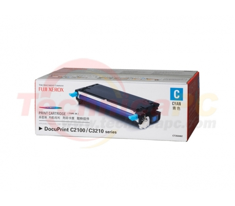 Fuji Xerox CT350482 (DPC 3120/2100) Cyan Printer Ink Toner