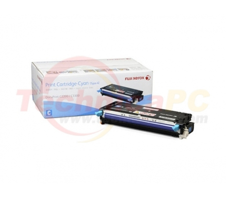 Fuji Xerox CT350671 (2200/3300) Cyan Printer Ink Toner