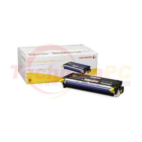 Fuji Xerox CT350673 (2200/3300) Yellow Printer Ink Toner