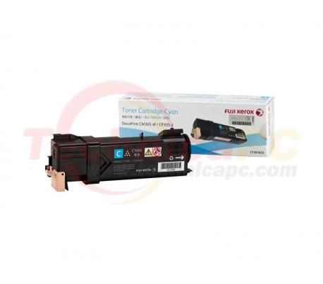 Fuji Xerox CT201633 (CP305D/CM305DF) Cyan Printer Ink Toner