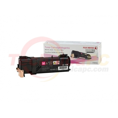 Fuji Xerox CT201634 (CP305D/CM305DF) Magenta Printer Ink Toner
