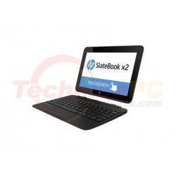 "HP Slatebook 10-H007RU Quad Core T40S 2GB eMMC64GB 10.1"" Black Netbook Laptop"