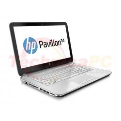 "HP Pavilion 14-N014TU Core i3-3217U 2GB 500GB 14"" White Notebook Laptop"