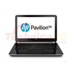 "HP Pavilion 14-N014TU Core i3-3217U 2GB 500GB 14"" Black Notebook Laptop"