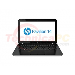 "HP Pavilion 14-E015TX Core i5-3230M 4GB 750GB 14"" Black Notebook Laptop"