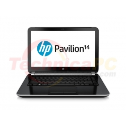 "HP Pavilion 14-N038TX Core i5-4200U 4GB 750GB 14"" Black Notebook Laptop"