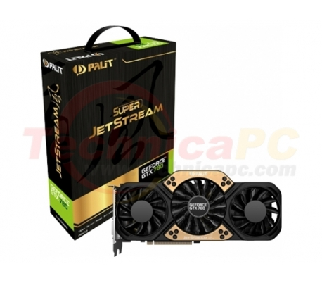 Digital Alliance NVIDIA Geforce GTX 780 Super Jetstream 3072MB DDR5 384 Bit VGA Card