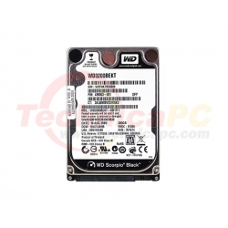 Western Digital Scorpio Black 320GB SATA WD3200BEKT HDD internal 2.5""