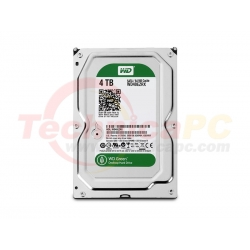 Western Digital Caviar 4TB SATA Green WD40EZRX HDD Internal 3.5""