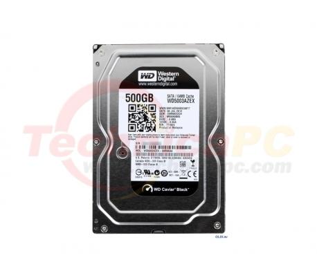 "Western Digital Caviar 500GB SATA Black WD5003AZEX HDD Internal 3.5"""